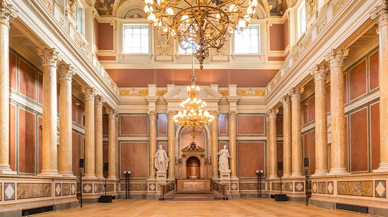 Uni Wien Klimt Bilder Wieder Im Festsaal